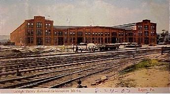 Sayre Locomotive Shops1907