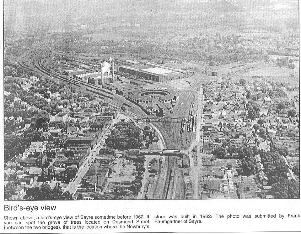 Sayre, Pa.  Newspaper 1962