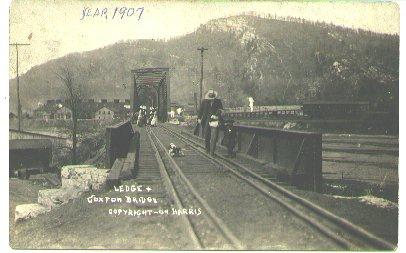 Coxton, Pa. Bridge-1907