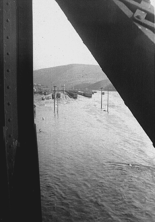 Lehighton, Pa.  1955 Flood