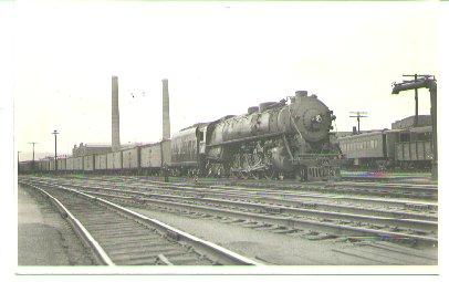 Sayre, Pa. Shops and Train