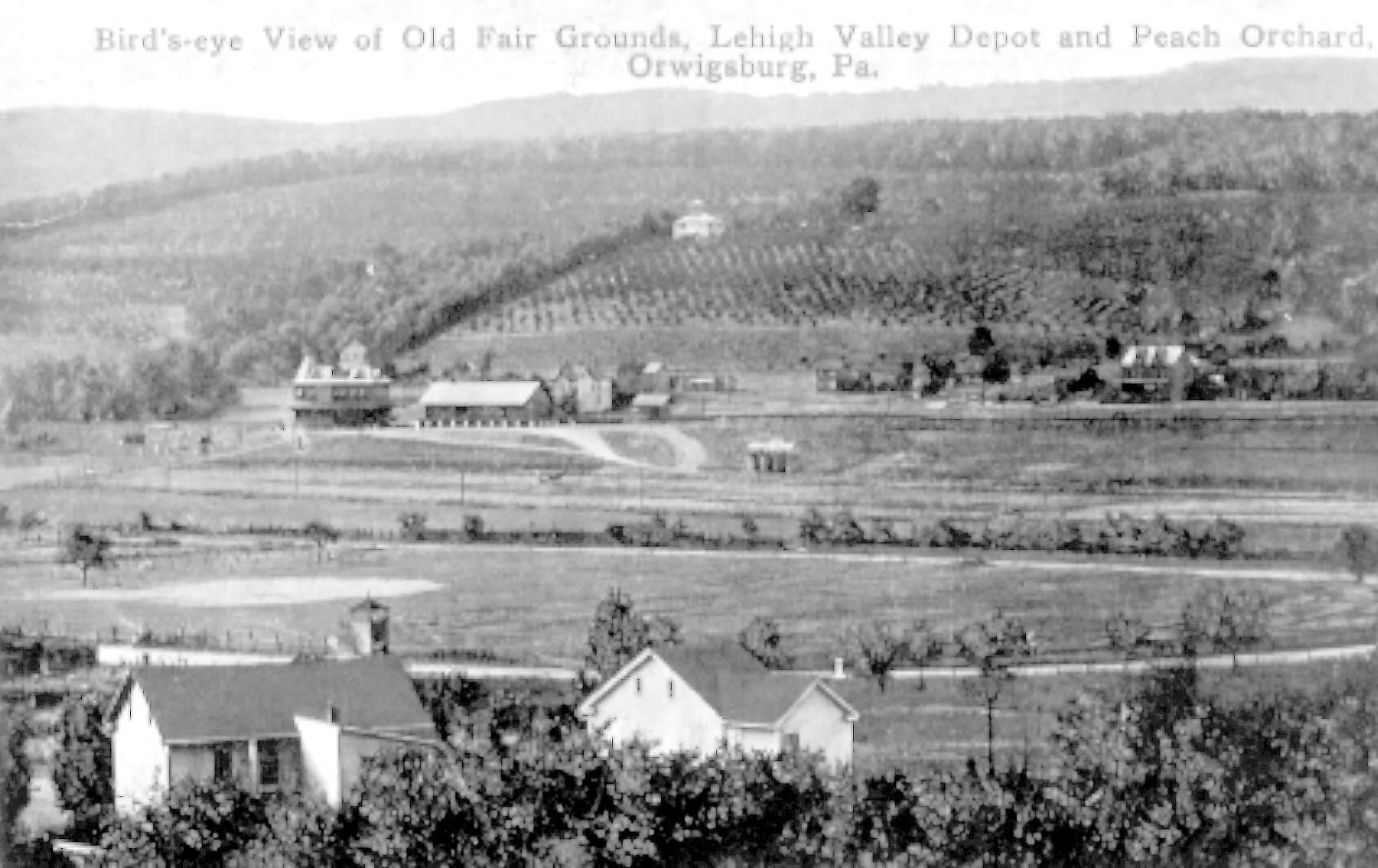 Orwigsburg Pa. Fair Ground Depot