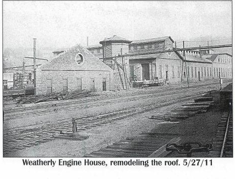 Weatherly, Pa.  Engine House 5-27-1911