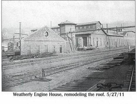 Weatherly, Pa.  Engine House 5-27-1911