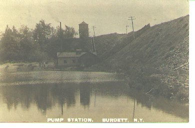 Burdett, N.Y.  Pump Station