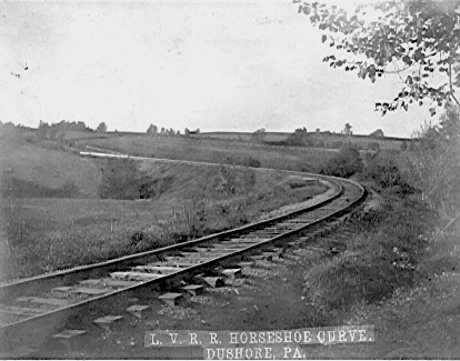 Dushore, Pa.  Horseshoe Curve