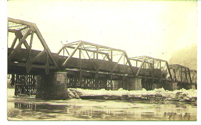 Athens, Pa.  Bridge 1911