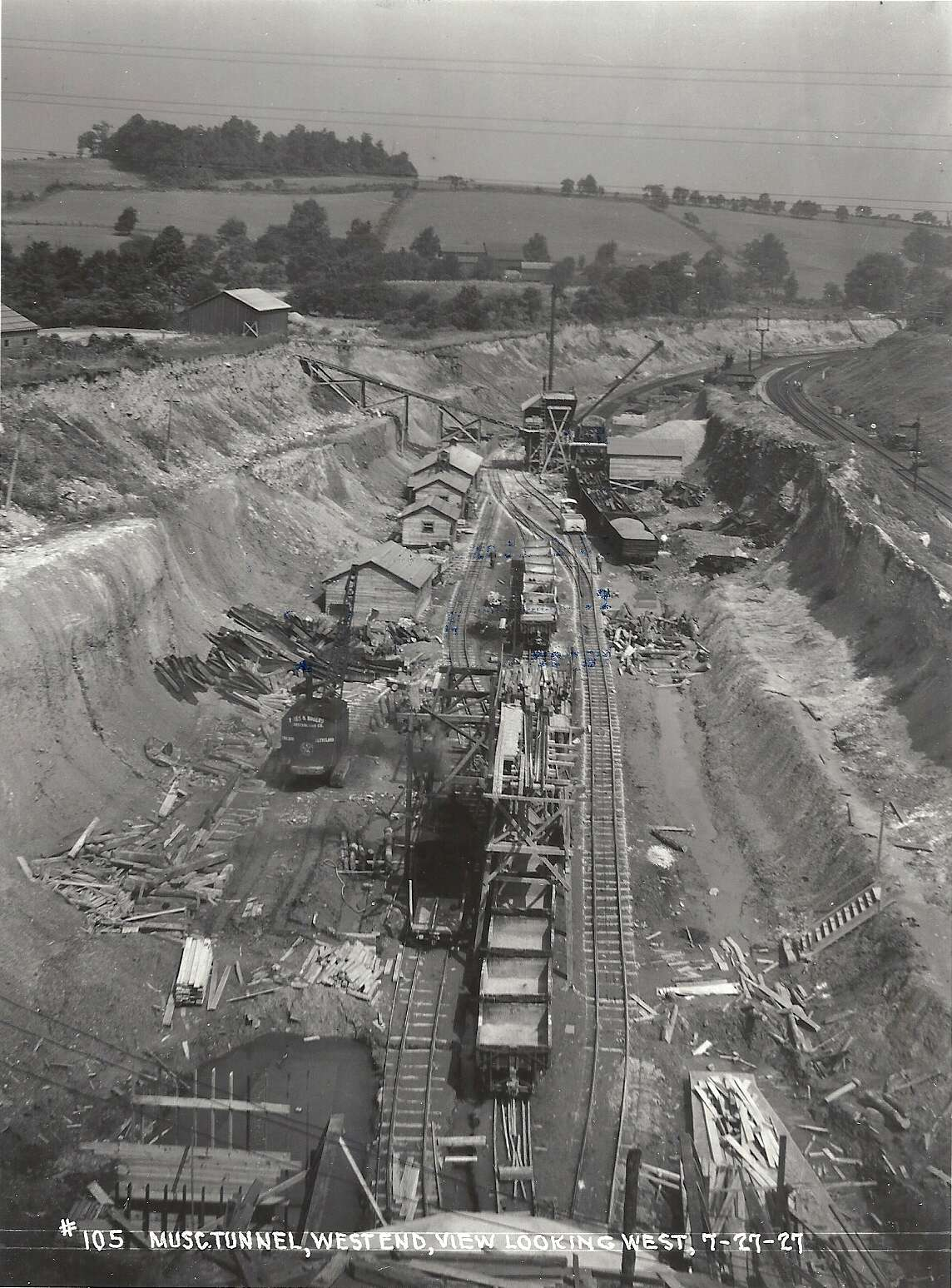 Musconetcong Tunnel, LVRR Project.