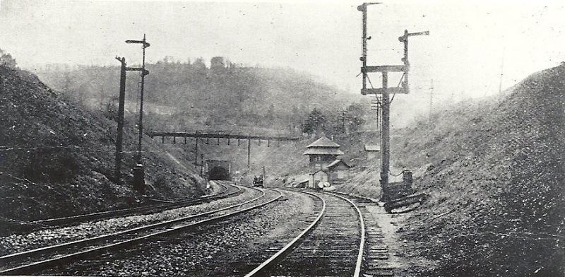 Musconectcong Tunnel at West Portal, N.J.