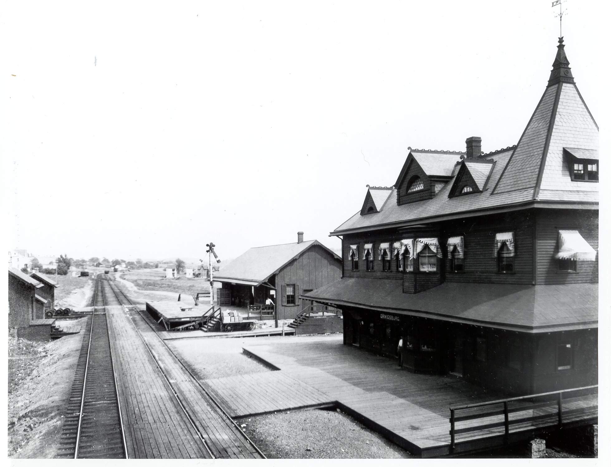 Orwigsburg Pa. Depot