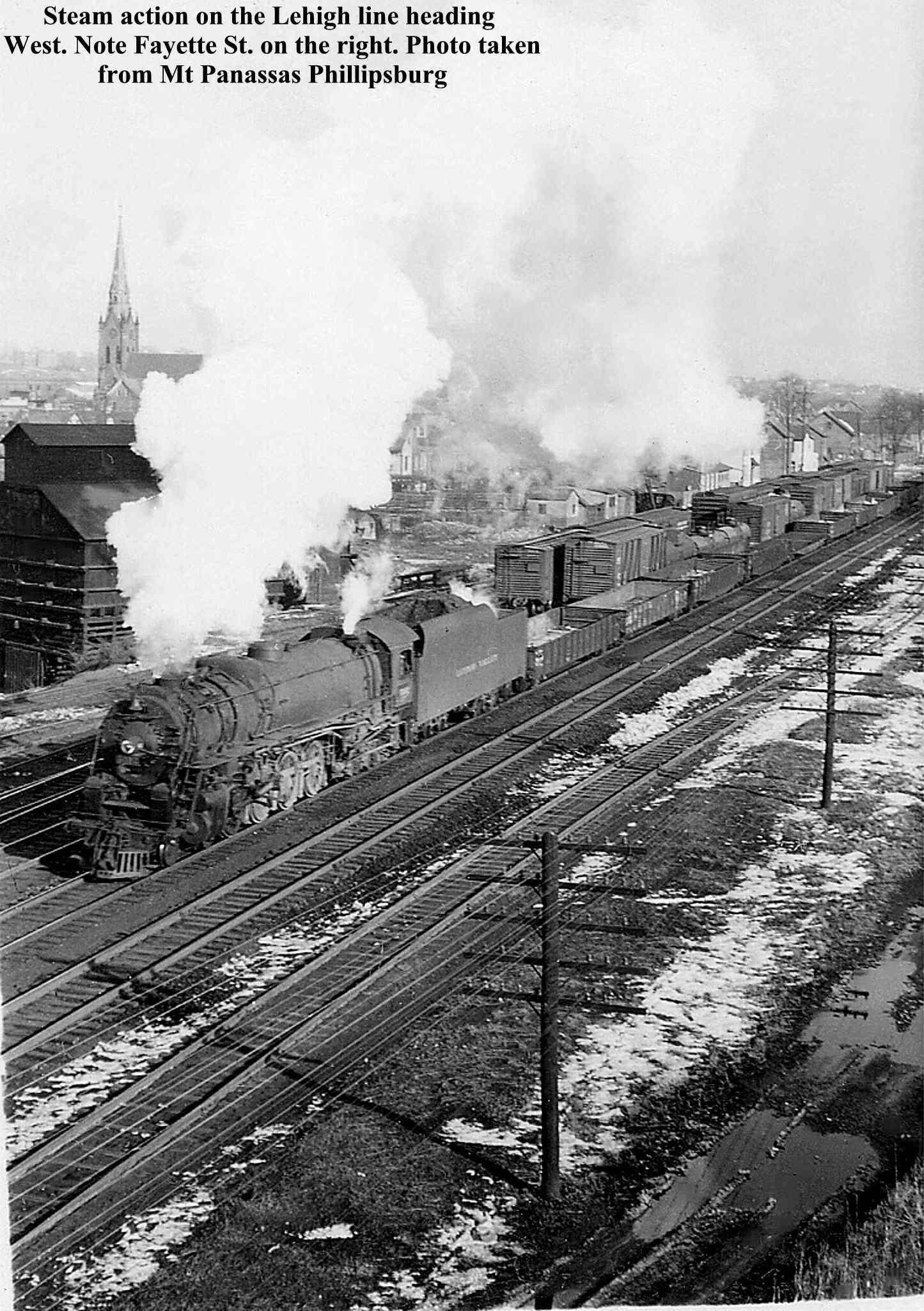 Phillipsburg, N.J. Yard