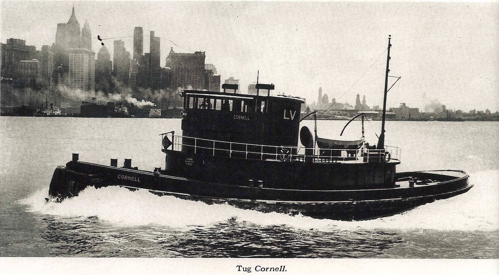 LVRR Tug   Cornell