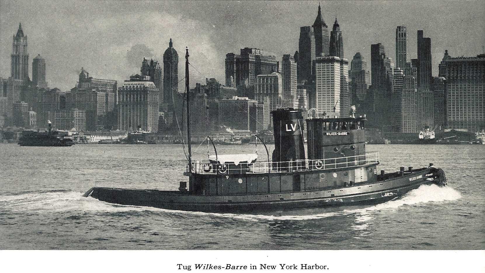 LVRR Tug  Wilkes Barre