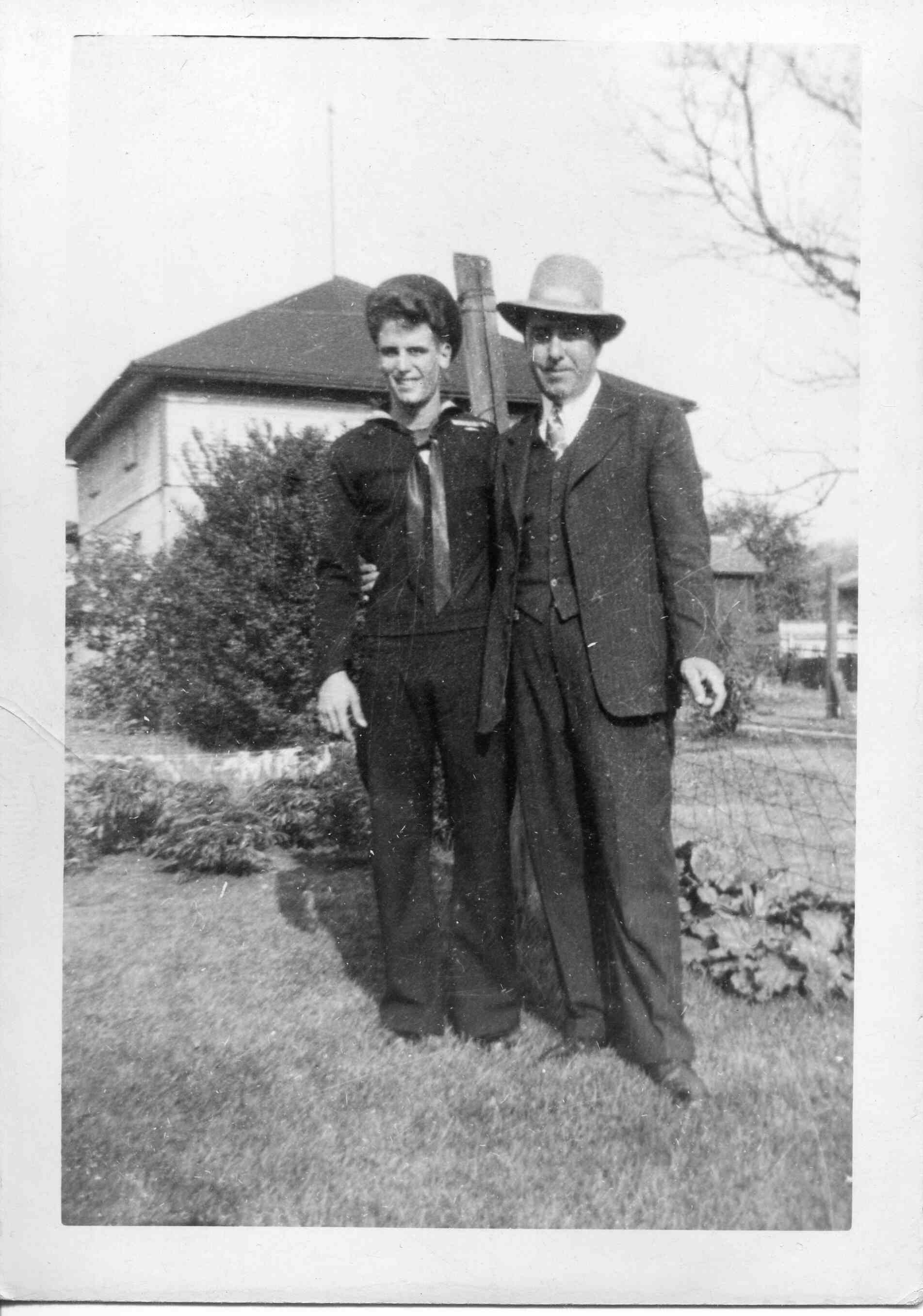 Mertz, Robert A. On Leave 1945