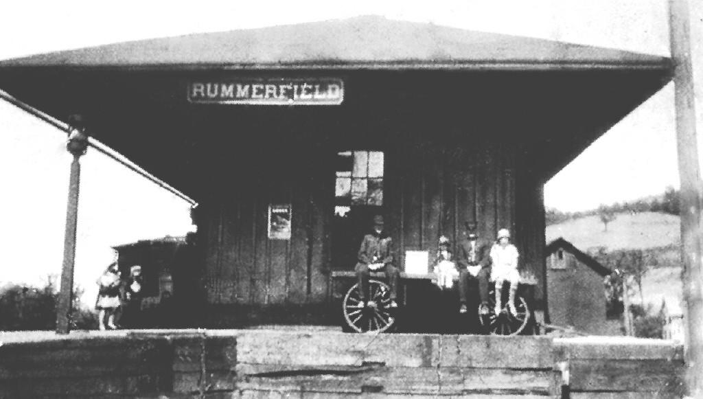 Rummerfield, Pa.  Station