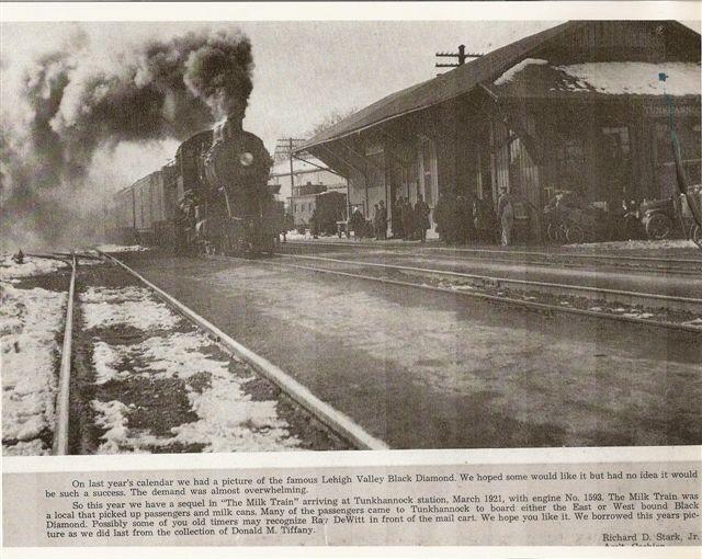 Tunkhannock, Pa. _Station-1921