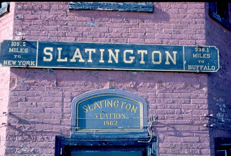 LVRR Slatington, Pa.  Sign