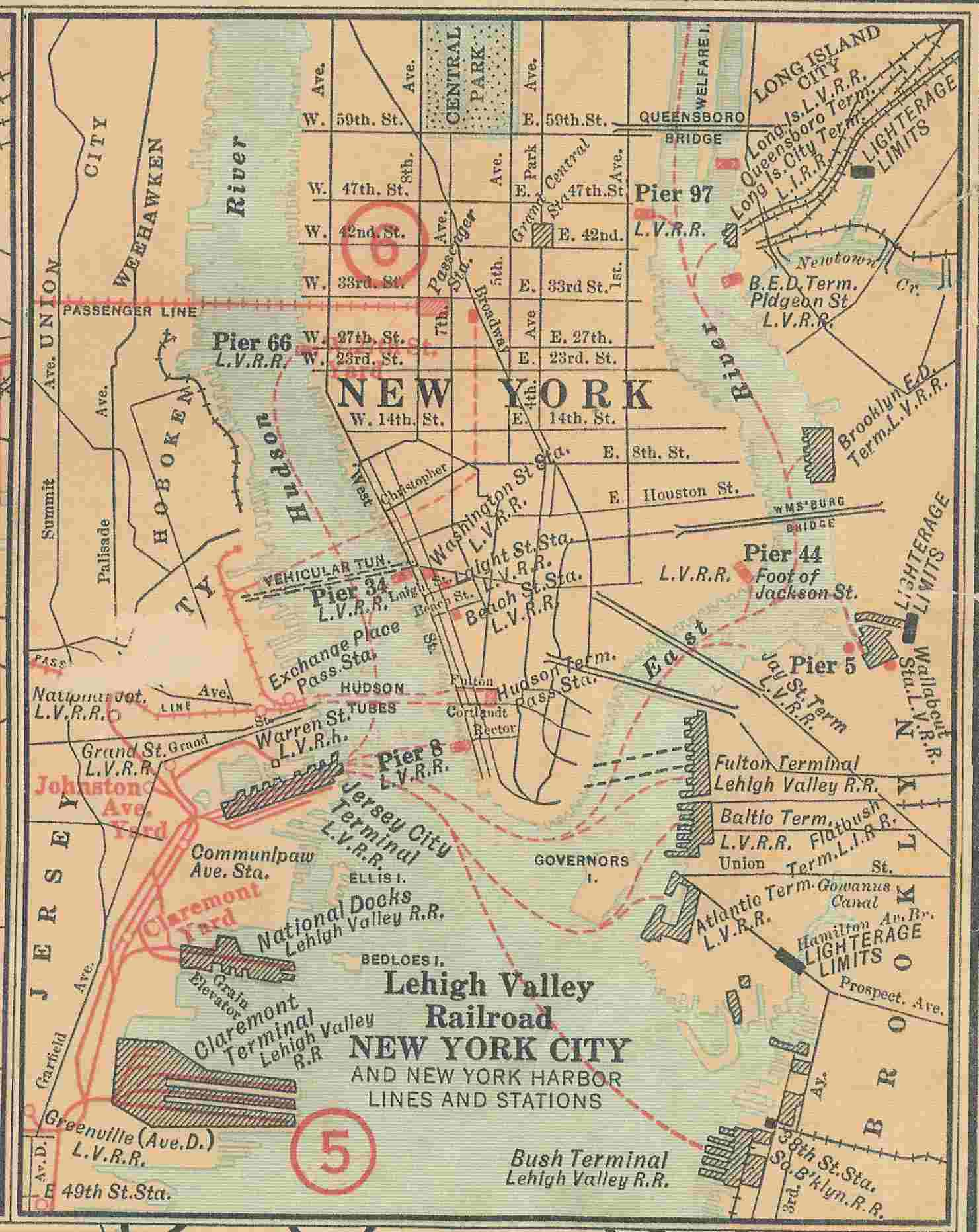 N.Y.C. Area Operations