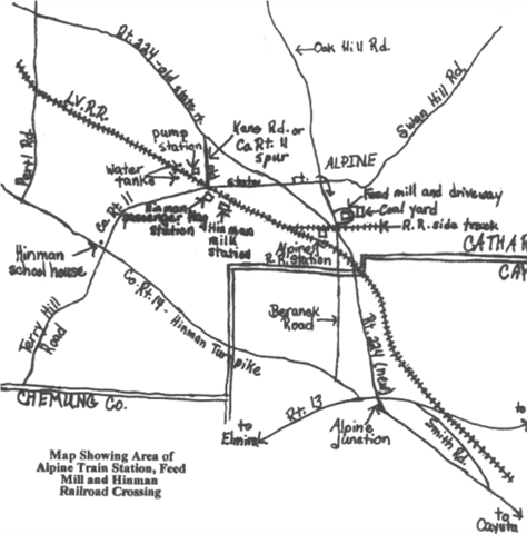 Alpine Station Map