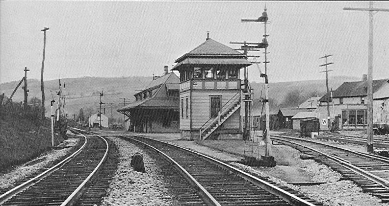 Van Etten, N.Y. Tower and Station