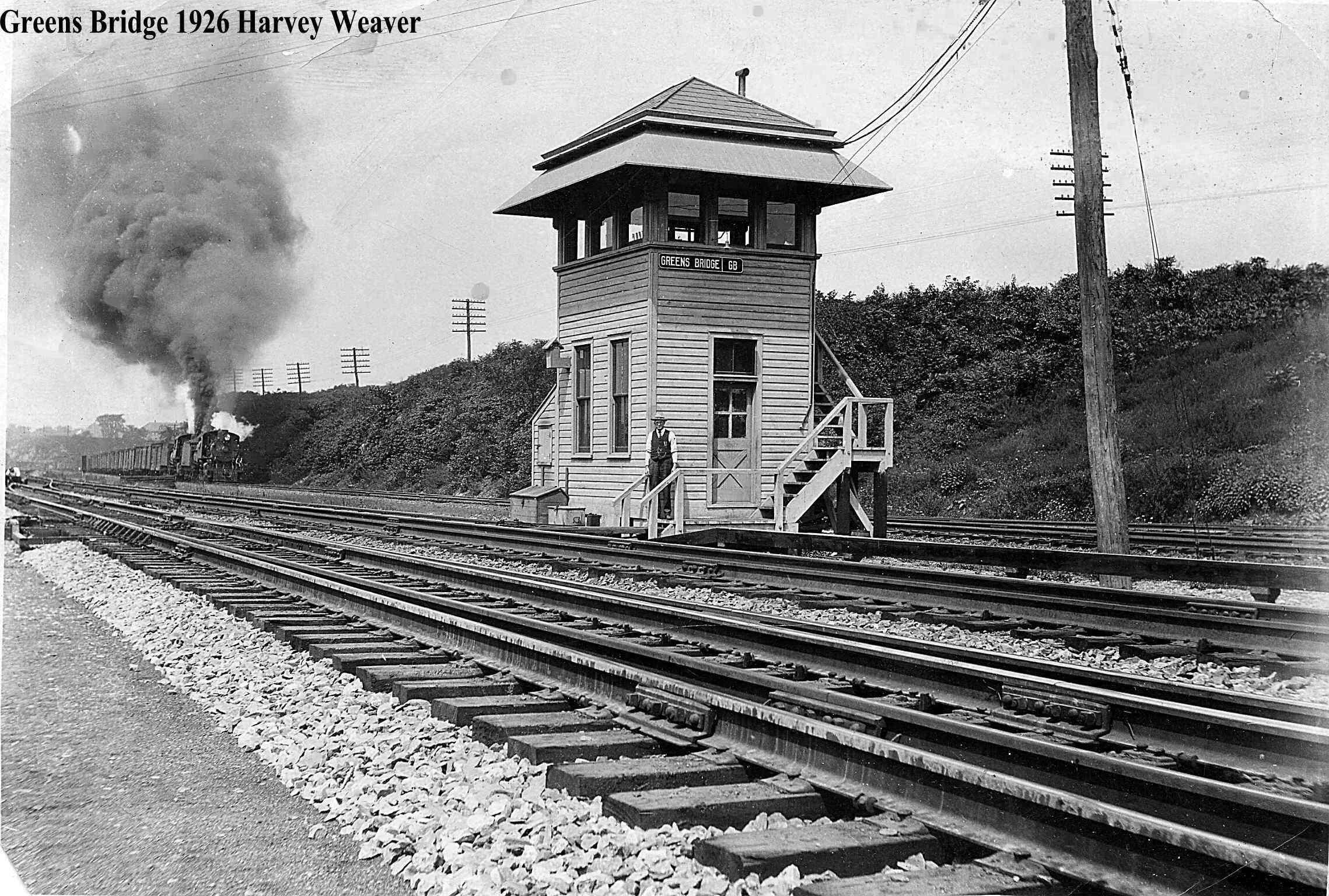 Green Bridge Tower. Phillipsburg, N.J. 1926